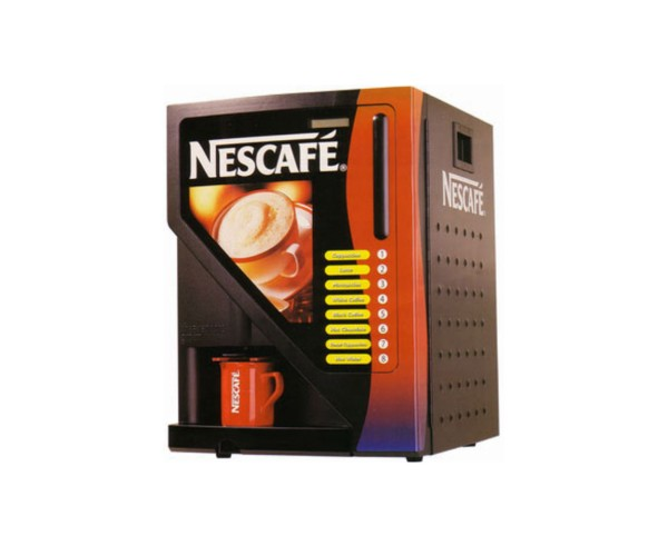 Obtain Nescafe Instant Tea Coffee Vending Machine For Small Office